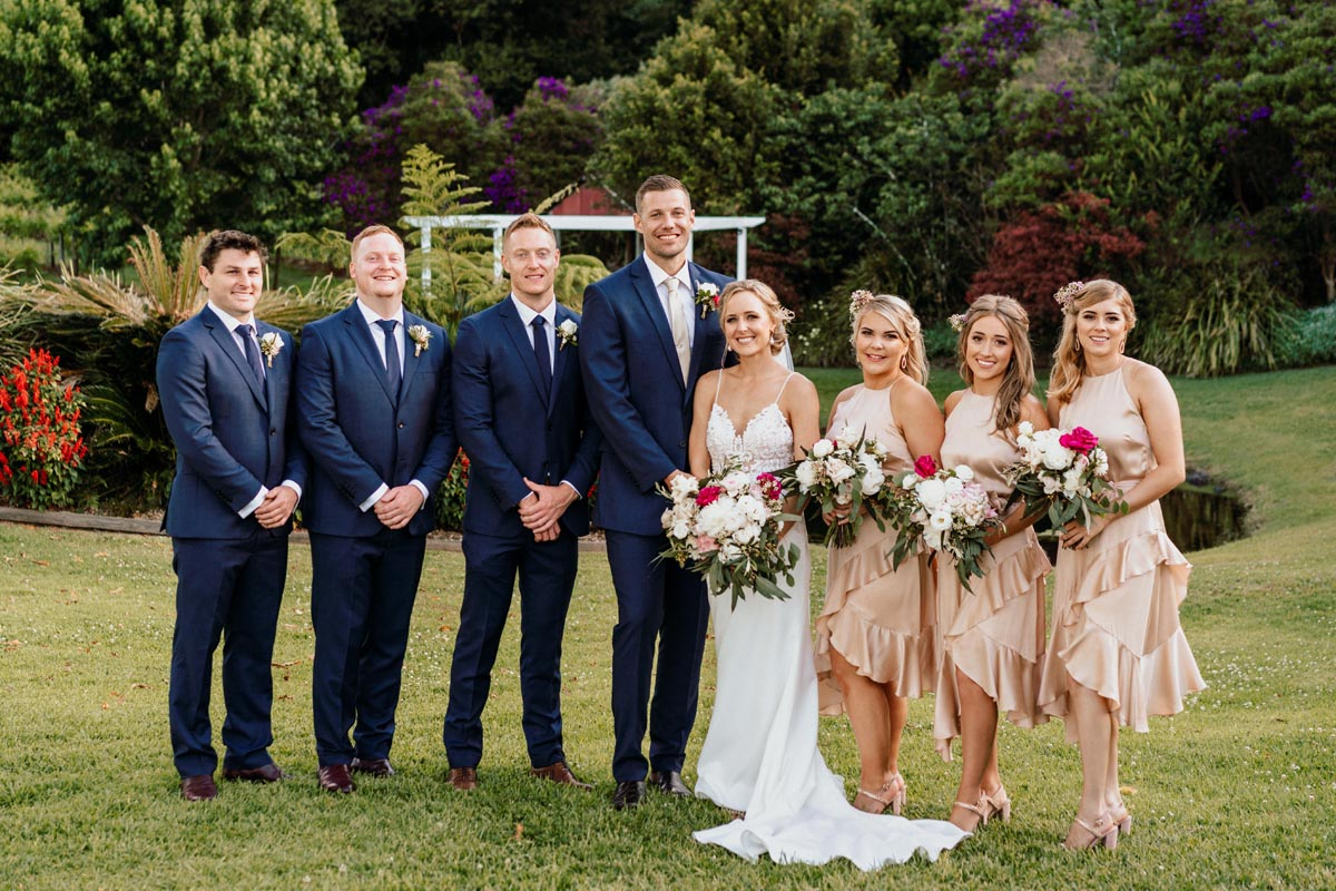 Anthony and Kimberley – Maleny Manor Wedding