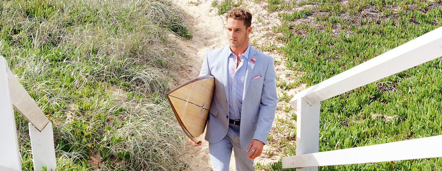 Suits, Surf & Sand