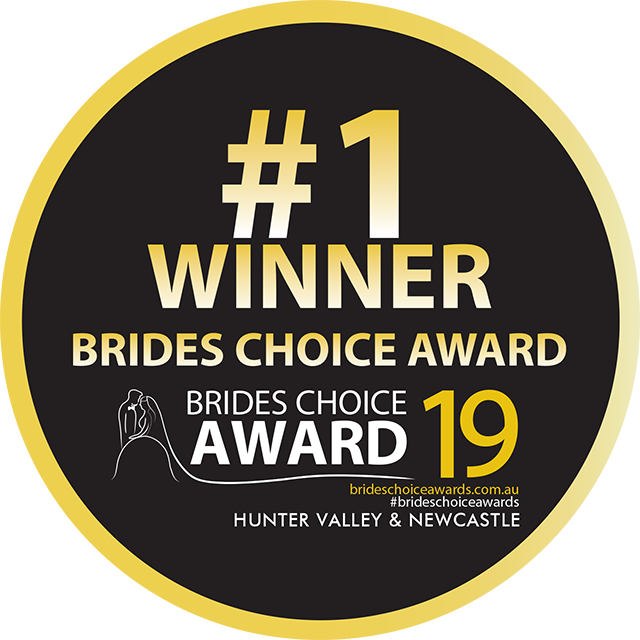 Hunter Valley Brides Choice Winner Logo 19 Weddings